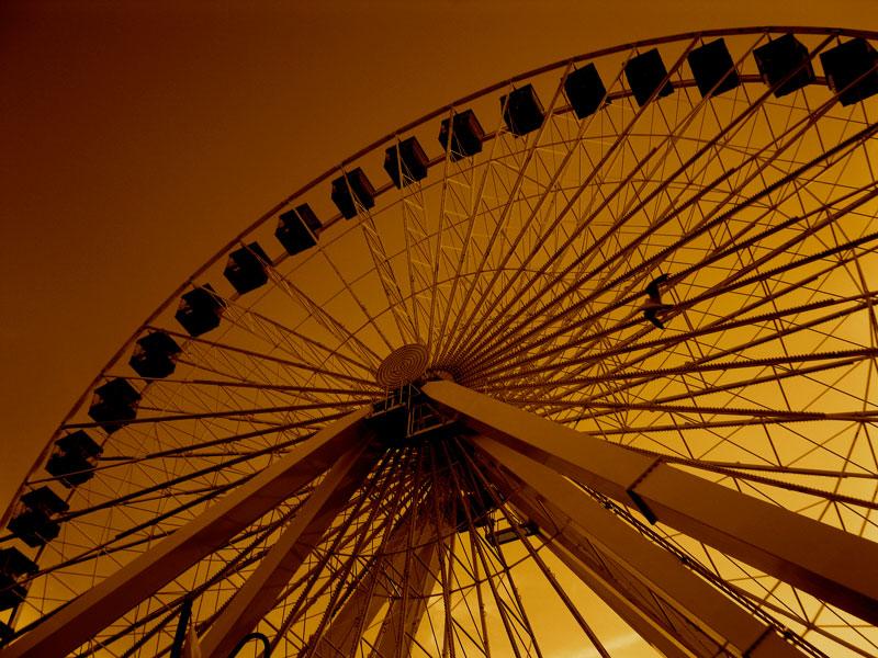 La rueda de la fortuna, Daniel Segura, 2010