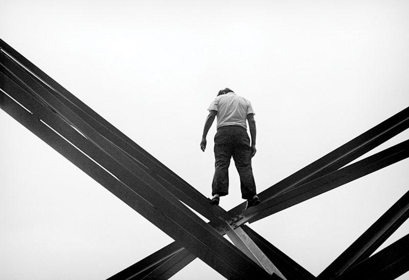 """Sin título, de la serie """"El suicida del toreo"""". Enrique Metinides, 1971."""