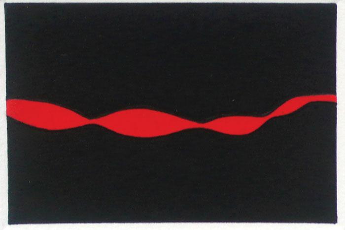 Bundanon, aguatinta, 13 x 19, 2007.
