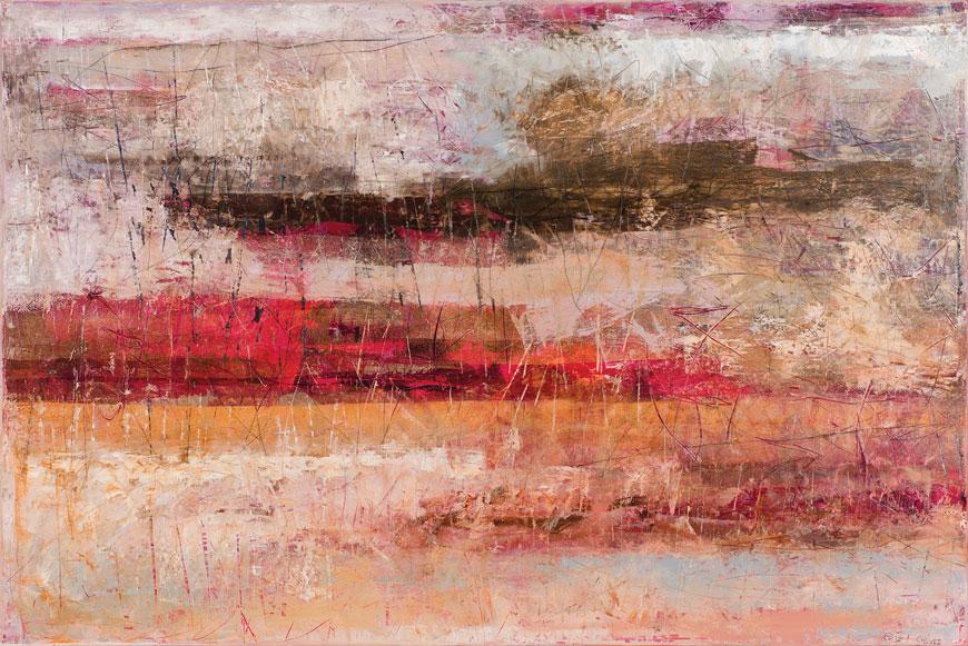 Cáliz, óleo sobre lino, 100 x 150, 2012.